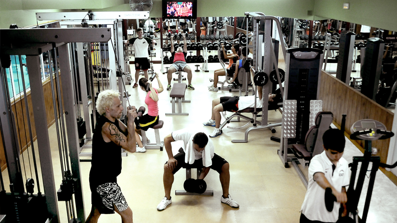 Clase de Fitness
