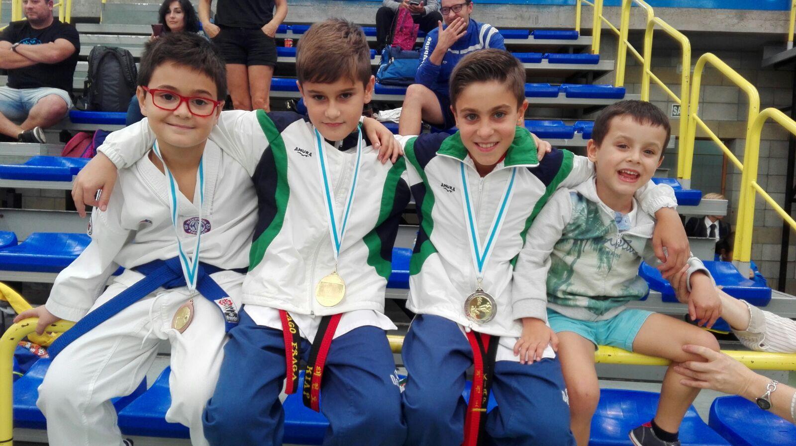 medallistas open internacional de moaña